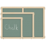 "Jonti-Craft KYDZ Suite® Panel: Chalkboard, E-Height, 36"" Wide"