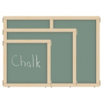 "Jonti-Craft KYDZ Suite® Panel: Chalkboard, A-Height, 48"" Wide"