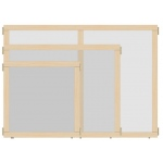 "Jonti-Craft KYDZ Suite® Panel: See-Thru, A-Height, 48"" Wide"