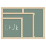 "Jonti-Craft KYDZ Suite® Panel: Chalkboard, T-Height, 48"" Wide"