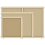 "Jonti-Craft KYDZ Suite® Panel: Hardboard, A-Height, 24"" Wide"