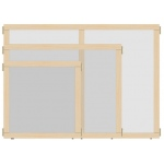 "Jonti-Craft KYDZ Suite® Panel: See-Thru, A-Height, 24"" Wide"