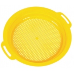 American Education Sand and Water Toys: Yellow Sieve