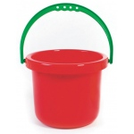 American Education Sand and Water Toys: Large Red Bucket