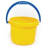 American Education Sand and Water Toys: Small Yellow Bucket