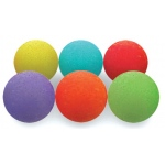 American Education Uncoated Foam Ball: Set of 6