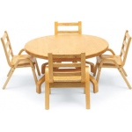 NaturalWood™ Tables: Round Table