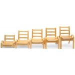 "Angeles NaturalWood™ Chairs: 5"" Chair"