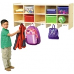 Angeles® Value Line Birch 10-Section Preschool Locker