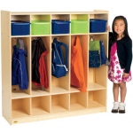 Angeles® Value Line Birch 5-Section Preschool Locker