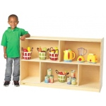 "Angeles® Value Line Birch Mobile Divided Storage: 30"" H"