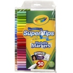 Washable Markers 50ct Super Tips W/silly Scents