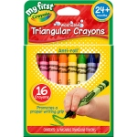 My First Crayola 16ct Triangular Crayons