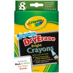 Crayola Dry Erase Crayons 8 Count Washable