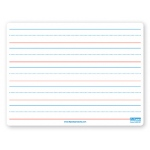 Magnetic Dry Erase Board 9 X 12 Red Blue Ruled