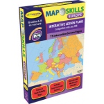 Map Skills Europe Interactive White Board Software