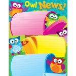 Owl News Learning Chart