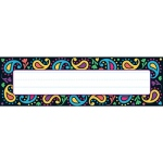 Perfectly Paisley Desk Name Tags