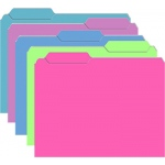Brite File Folders 10pk Galactic Assorted