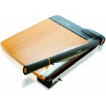 Westcott Trimair Titanium Wood 15in Guillotine Paper Trimmer Mircroban