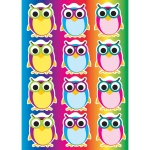 Die Cut Magnets Color Owls