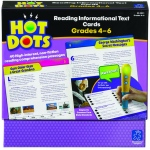 Gr 4-6 Hot Dots Reading Informational Text