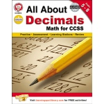All About Decimals Book Gr 5-8