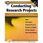 Common Core Conducting Research Projects Book Gr 6-8
