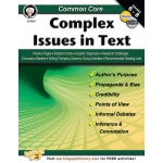 Common Core Complex Issues In Text Book Gr 6-8