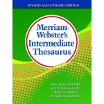 Merriam Webster Intermediate Thesaurus Hardcover