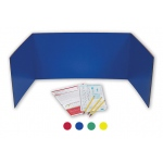 Privacy Shield Assorted Colors 24ct 18h X 48w