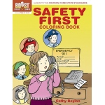 Boost Safety First Coloring Book Gr Pk-K