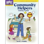 Boost Community Helpers Coloring Book Gr Pk-K
