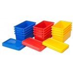 ECR4Kids Stack & Store Tub with Lid, 12 Piece - AS