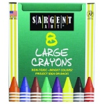 Crayons Large Tuck Box 8 Ct