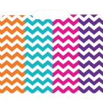 Chevron File Folders 12 Pk