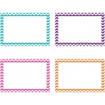 Border Index Cards 3x5 Blank 75ct Chevron