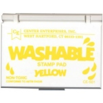 Center Enterprises Washable Stamp Pads: Yellow