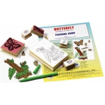 Center Enterprises Butterfly Lifecycle Stamp Set