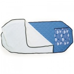 Angel's Rest Cot Quilt: Angel-Cloud Pattern, Pack of 4