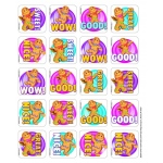Candy Land Gingerbread Scented Stickers