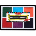 Jumbo Multi Color Stamp Pad