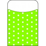 Polka Dots Lime Terrific Pockets