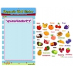 American Educational Magnetic Wall Stickers: Fruit