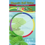 American Educational Magnetic Wall Sticker: Frog