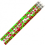 Dots Of Christmas Fun Pencil 12 Pk