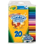 Washable Markers 20ct Super Tips W/silly Scents