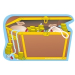 Creative Shapes Notepad Treasure Chest Large