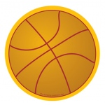 Creative Shapes Notepad Basketball Large