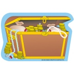 Creative Shapes Notepad Treasure Chest Mini